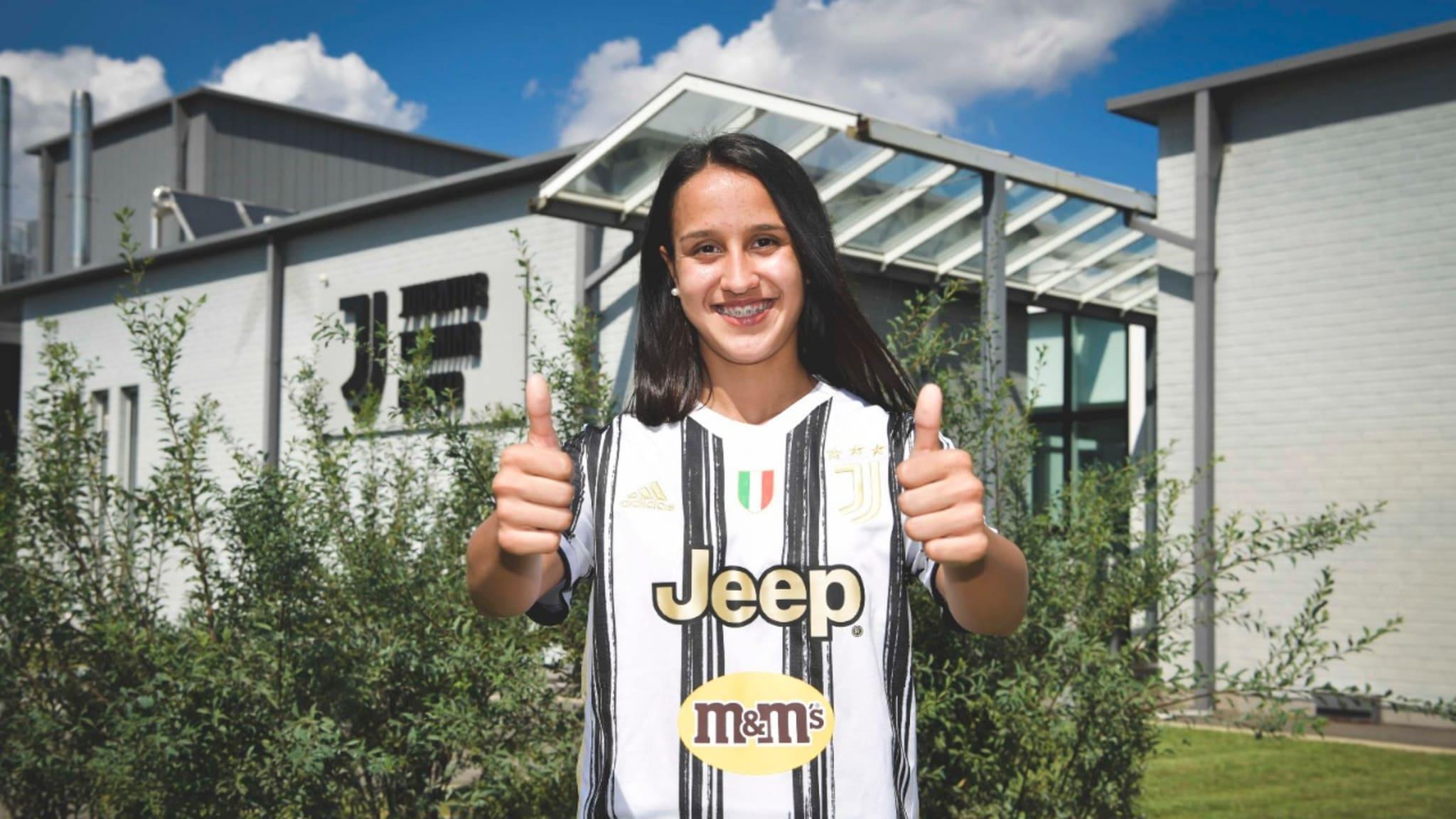 Argentina's Dalila Ippolito, new player of Juventus