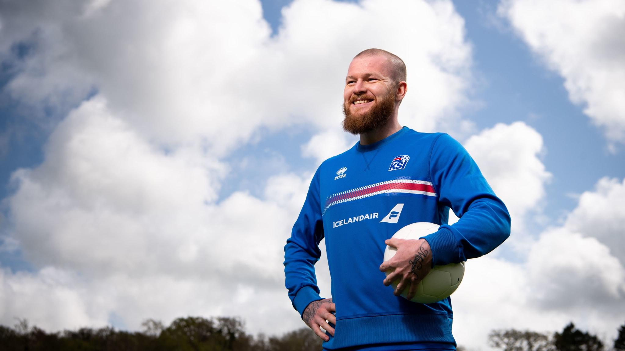Iceland captain Aron Gunnarsson