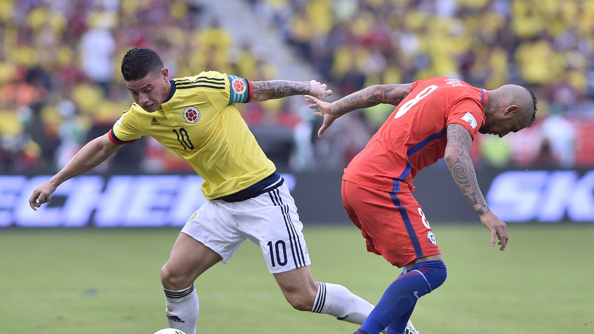 Colombia v Chile - FIFA 2018 World Cup Qualifiers