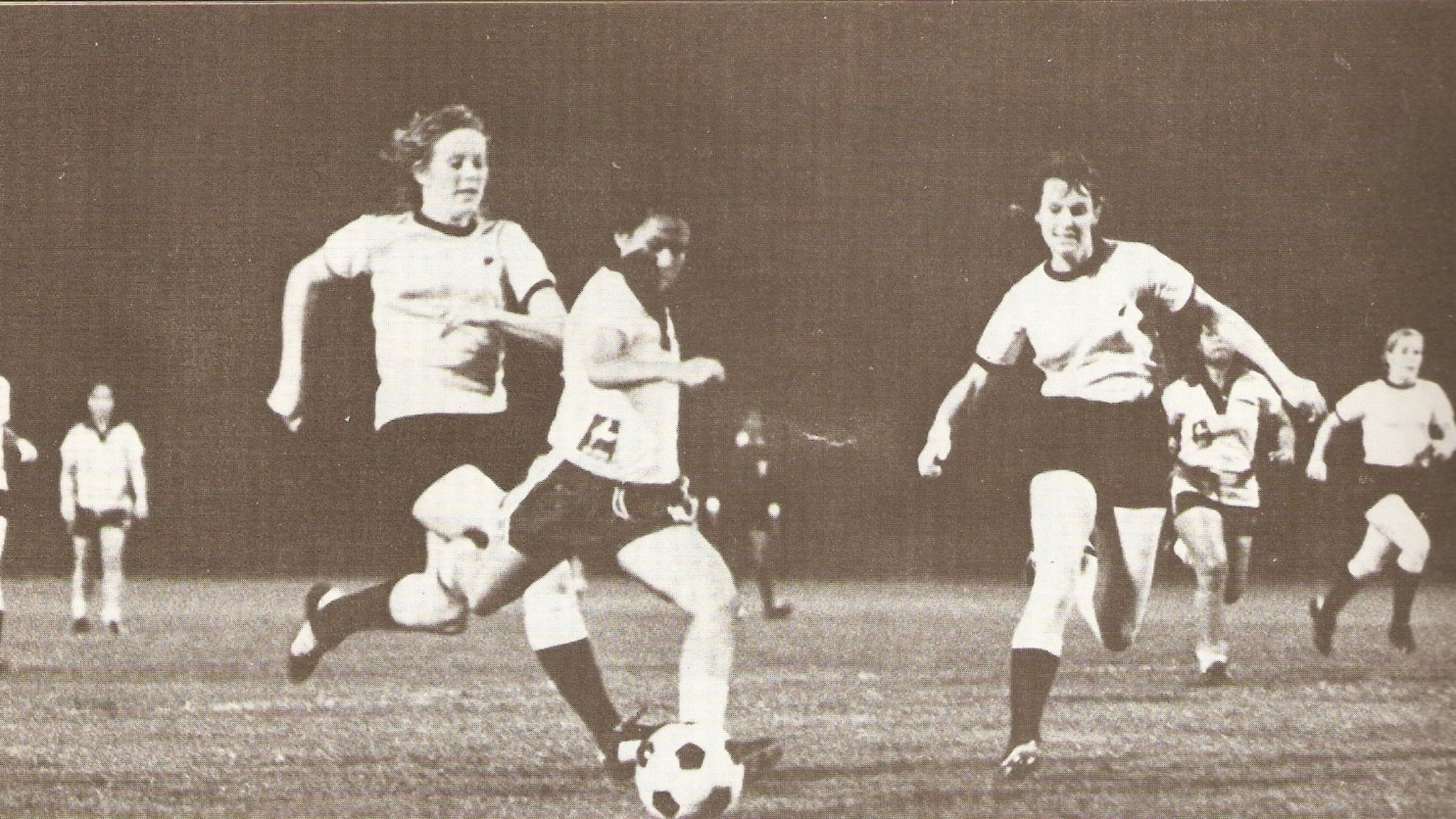New Zealand in action at the 1975 AFC Women's Championship
