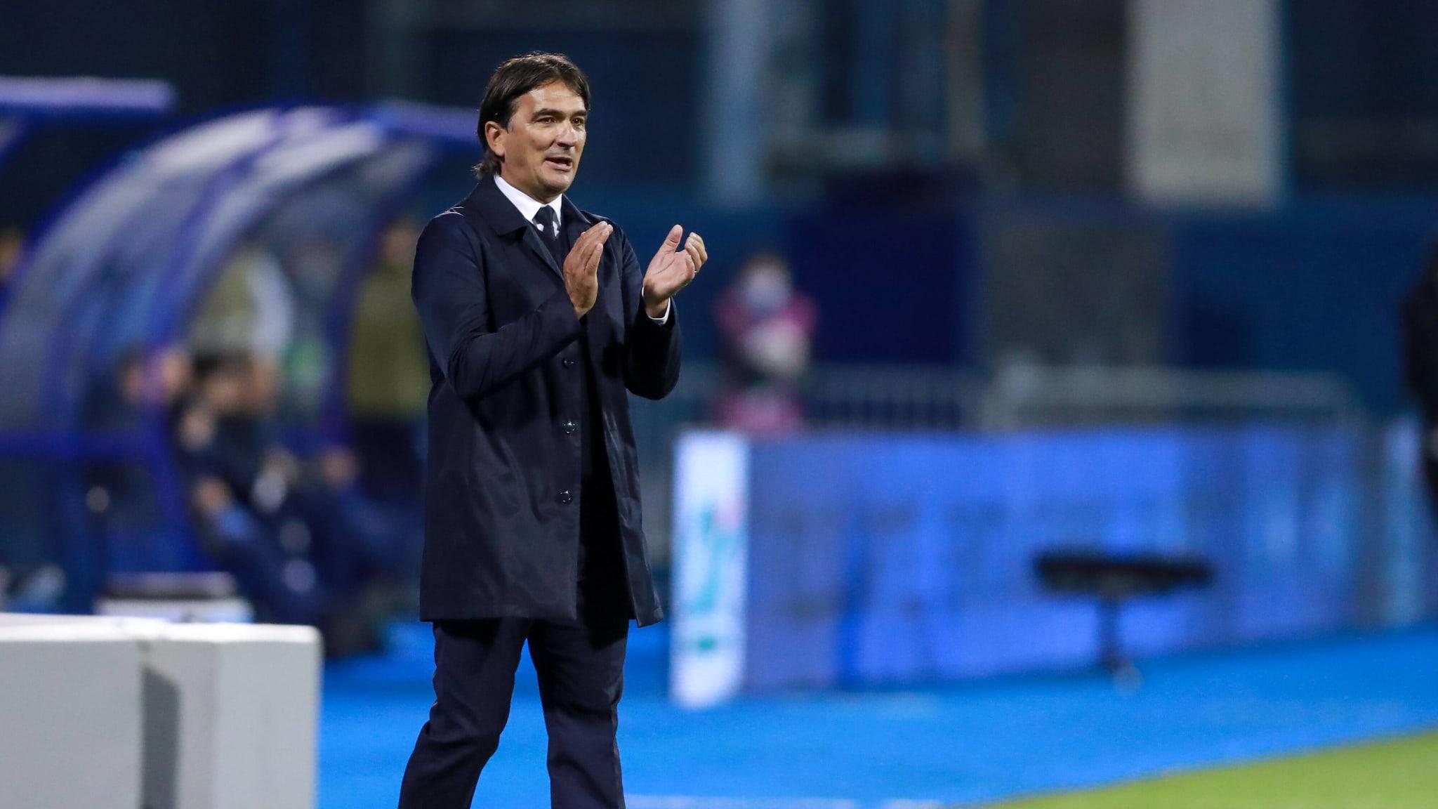 Croatia coach Zlatko Dalic.